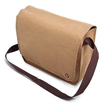Washed Kraft Shoulderbag - Shoulder bag - 38 cm - 16 l - color: Brown
