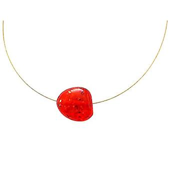 Gemshine Gold-plated Woman Pendant Necklace - Cambar3