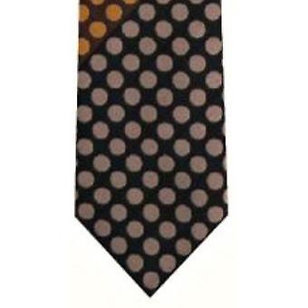 Gene Meyer Sevenoaks Tie - Gold/Red/Lilac