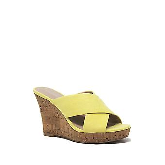 Charles by Charles David Womens Latrice Fabric Open Toe Casual Platform Sandals