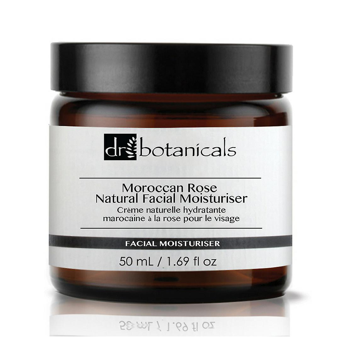 Dr. botanicals moroccan rose natural facial moisturiser