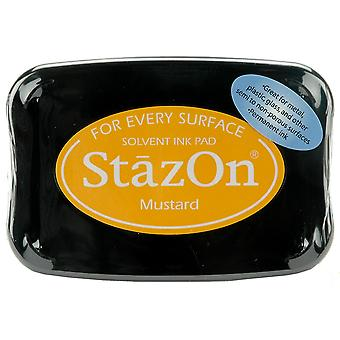StazOn Solvent Ink Pad - Mustard
