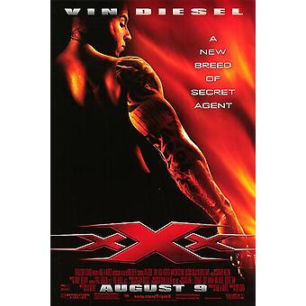 XXX (enkelzijdig Regular) (UV gecoat) hoogglans (2002) originele Cinema poster