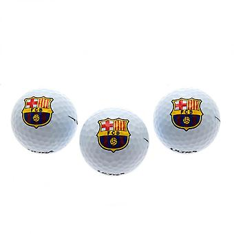 FC Barcelona Golf Balls (Set Of 3)