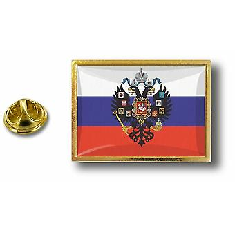 Pins Pin Badge Pin's Metal  Avec Pince Papillon Drapeau Russie Russe Aigle