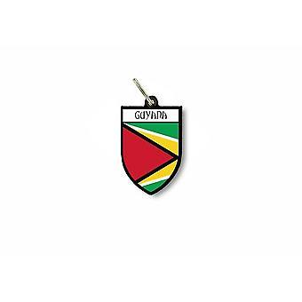 الباب مفتاح العلم الرئيسية جمع شعار المدينة من الأسلحة غيانا