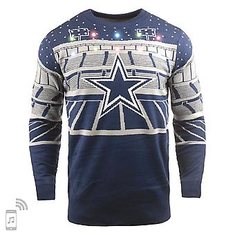 NFL Ugly Sweater XMAS LED Pullover - Dallas Cowboys