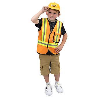 Construction Worker Children's Costume, 3-4