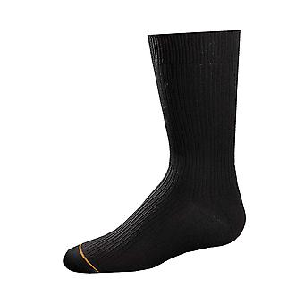 Gold Toe Big Boys' 3 Pack Microfiber Dress Sock, Black, Small