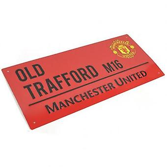 Manchester United Street Sign RD