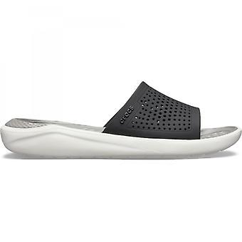 Kjøp Crocs Literide Slide Blackslate Grey sko Online