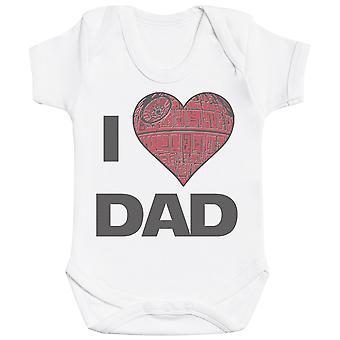 I Love Dad - Baby Bodysuit