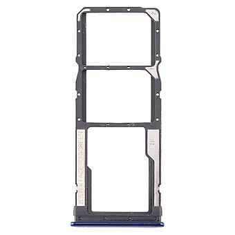 Sim Card Tray for Xiaomi Redmi Note 8 Blue Cards Holder Sled Holder Spare Part