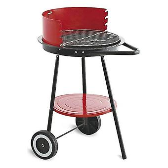 Algon Black Red charcoal barbecue wheels (43 cm)