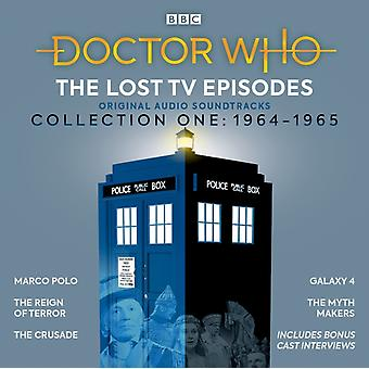 Doctor Who The Lost TV Episodes Collection One 19641965 by John Lucarotti