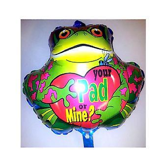Foil Balloon 'VOTRE PAD OU MINE' 18