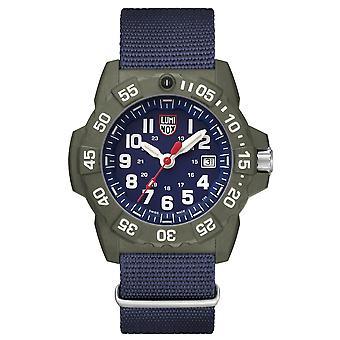 Luminox Navy SEAL 3500 serie Canvas Riem heren horloge XS.3503.ND
