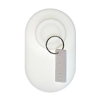 Vit knappsats - magnetiska nyckelhållare av läge