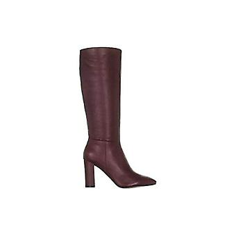 Marc Fisher Mulheres Zimra Amêndoa Toe Knee High Fashion Boots
