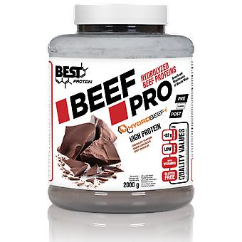 Cel mai bun proteină de carne de vită Pro 2000 gr (Articole sportive, Exercitarea & Fitness, Cardio, Salt Corzi)