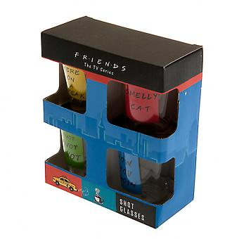 Friends Shot Glass Set (Pack Of 4)