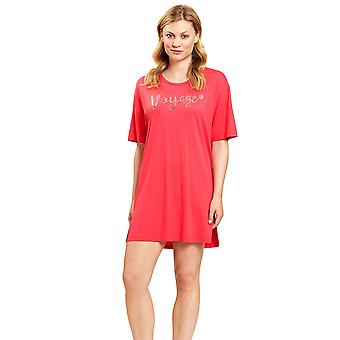 Féraud 3205046-11672 Women's Cherry Red Beach Dress