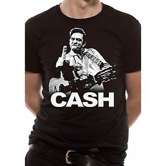 T-Shirt Johnny Cash - vinger (Unisex)