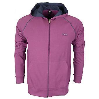 Hugo Boss Cotton Regular Fit Thin Purple Hoodie