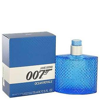 007 Ocean Royale By James Bond Eau De Toilette Spray 2.5 Oz (men) V728-502284