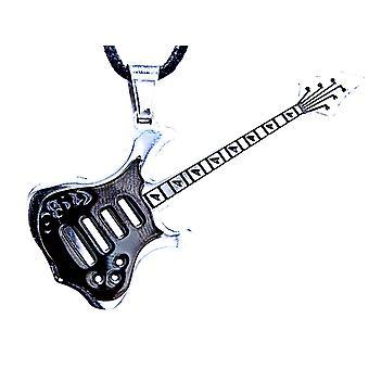 Wisiorek 1 gitara - stal nierdzewna