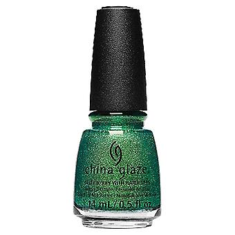 China Glaze To Catch A Colour 2019 Nail Polish Collection - Green With Jealousy (84728) 14ml