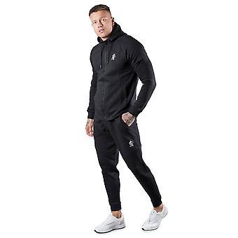 Gym King Core Plus Tracksuit Set - Black