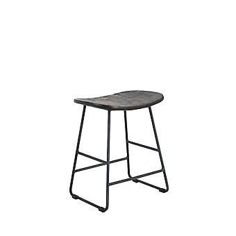 Light & Living Stool 40x29x47cm Tripas Wood-Grey