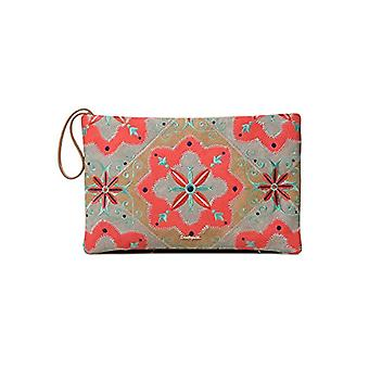 Desigual Bag Mary Jackson Macau Women - Orange Women's Day Pochette (Coral) 1x21.5x32.5 cm (B x H T)