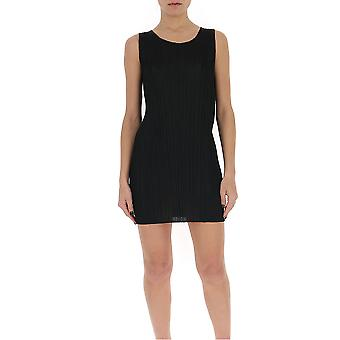 Issey Miyake Pleats Please Pp06jt10715 Women's Black Polyester Dress