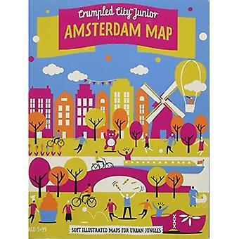 Junior Amsterdam Crumpled City Map