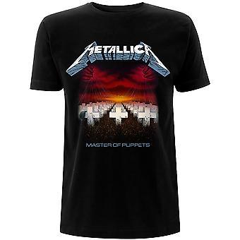 Metallica Master of Puppets Faixas T-Shirt