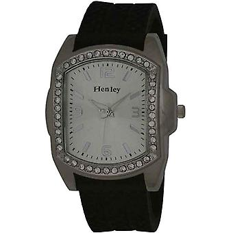 Henley Gents Huge Bling Tyre Watch, Diamante Crystals