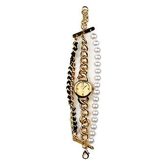 Eton Multi Strand Watch, Gold finish - 3192L-GD