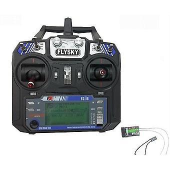 FlySky 6 lm 2,4 Ghz FS-i6, telemetri og 6 lm mottaker, AFHDS2