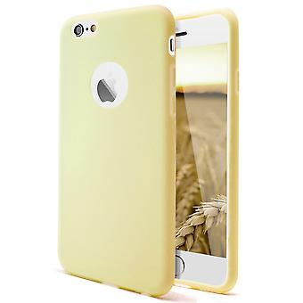 Shell for Apple iPhone 6/6s Champagne (Yellow) TPU Protection Case