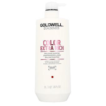 Goldwell DualSenses väri kun rikas Brilliance Shampoo 1000ml