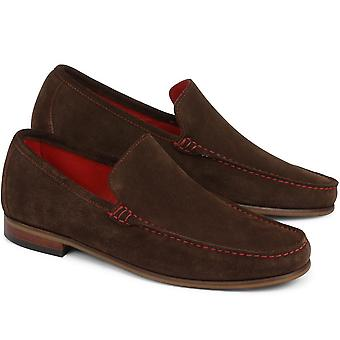 Jones Bootmaker Mens Marsden Suede Loafer