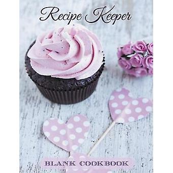 Recipe Keeper Blank Cookbook by Journals & Creative