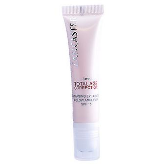 Cream for Eye Area Total Age Correction Lancaster (15 ml)