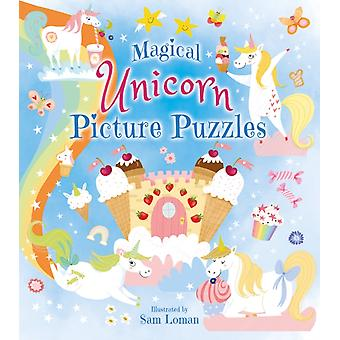 Magical Unicorn Picture Puzzles by Sam Loman