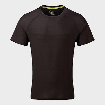 Neue North Ridge Men's Energy Active Short Sleeve Top Schwarz