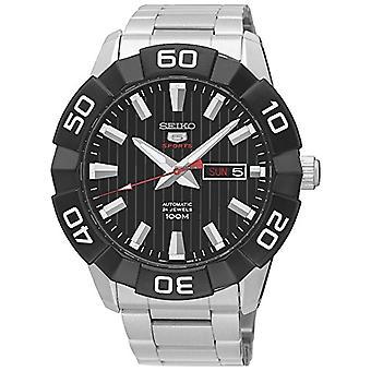 שעון אנלוגי של גברים Seiko ' s אוטומטי עם חגורת נירוסטה SRPA5K1