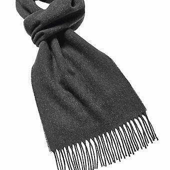 Plain wool scarf moss
