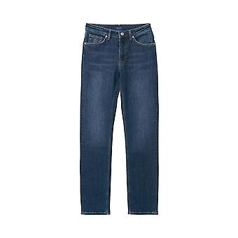 Gant Women's Slim Classic Denim Pants